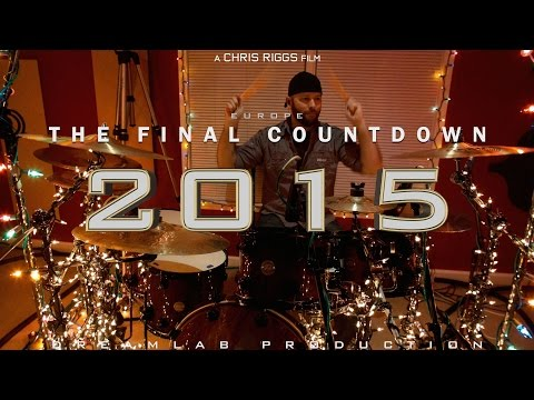 Europe - Final Countdown Drum Cover 1080P