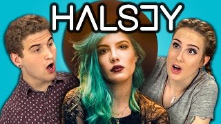 TEENS REACT TO HALSEY