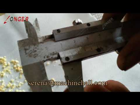 Macadamia Nut Chopping Machine|Nut Kernel Dicing Crushing Machines Working Video