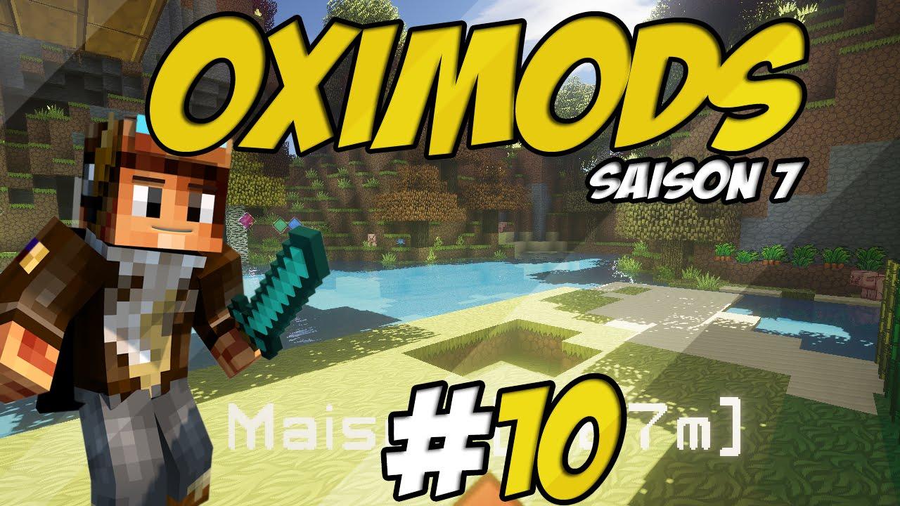 Minecraft OxiMods S7 Ep10  LE JARDIN SECRET   YouTube