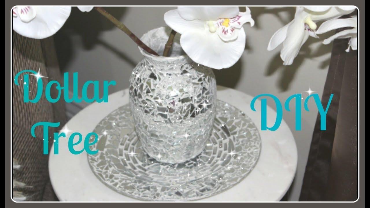 Download 💍Dollar Tree Vase & Plate DIY 2017💎