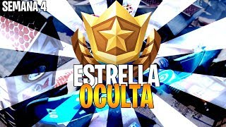 ESTRELLA OCULTA SEMANA 4 (ESTANDARTE) PANTALLA DE CARGA Temporada 7 Fortnite