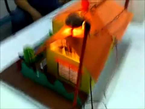 Circuito Electrico Simple De Una Casa : Casa circuito en serie youtube