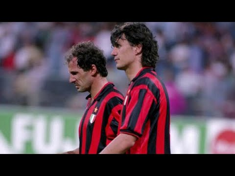 Paolo Maldini & Franco Baresi ● Greatest Duo Ever ● Unreal Defending