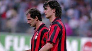 Paolo Maldini & Franco Baresi ● Greatest Duo Ever ● Unreal Defending