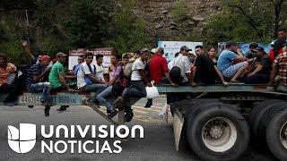 López Obrador ofrece visas de trabajo a los migrantes de la caravana que quieran quedarse en México