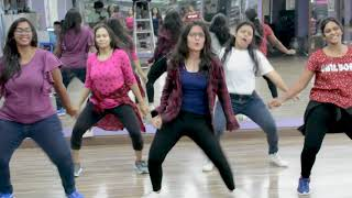 SIMMBA: Aankh Marey | Ranveer Singh, Sara Ali Khan | DANCE FITNESS WITH SATISH