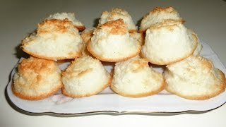 Rochers faciles à la noix de coco - حلوى جوز الهند
