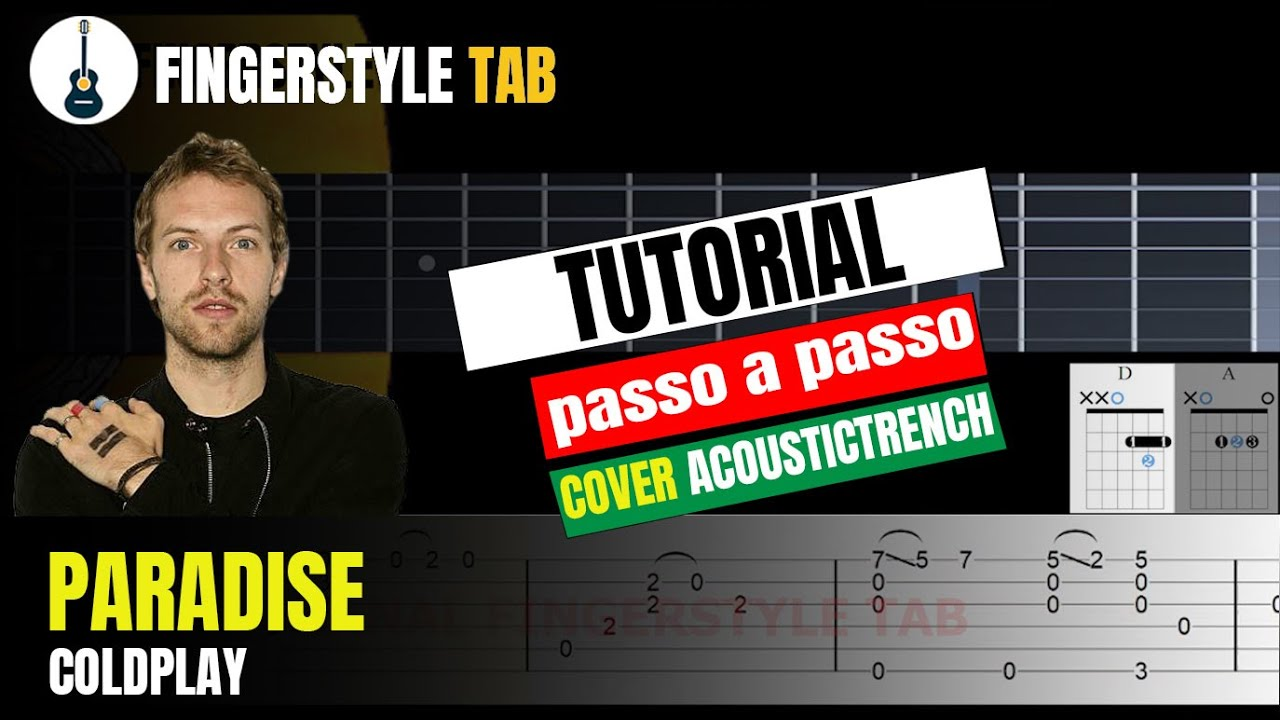PARADISE - Arranjo Violão Fingerstyle + Tablatura (Cover: Inspiração AcousticTrench)