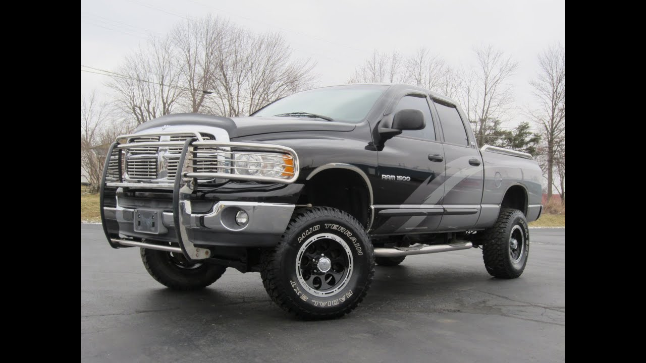 2002 dodge ram 1500 slt lifted conversion truck   sold