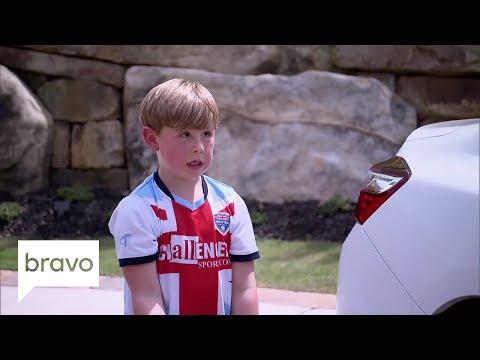 Don't Be Tardy: The Biermann Bunch Are Washing Cars (Season 6, Episode 3)   Bravo