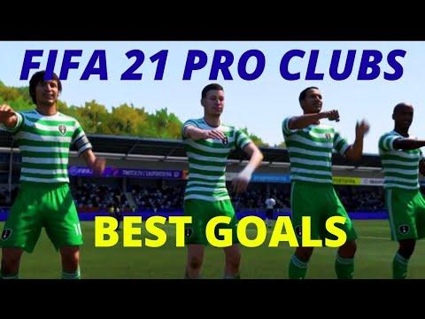 FIFA 21 PRO CLUBS - BEST GOALS