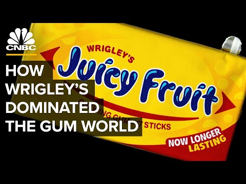 How Wrigley's Dominated The World Of Chewing Gum