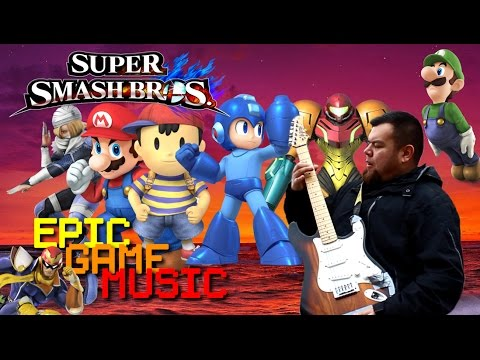 Super Smash Bros For Wii U3DS Theme Music   Epic Game Music