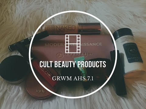 Cult Beauty Products: GRWM American Horror Story 7.1