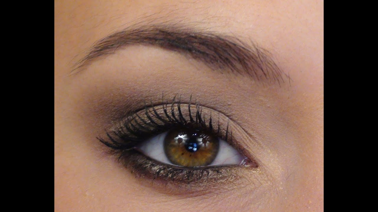 Regard Sexy Smokey Eye L Ger Maquillage De Soir E Youtube