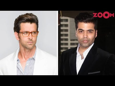 Hrithik Roshan NOT INTERESTED talking about various issues on Karan's chat show?   Bollywood News