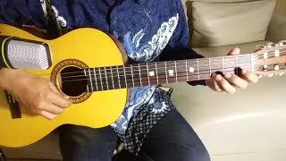 Indonesia Pusaka - Ismail Marzuki (Lagu Wajib Nasional)   Tutorial Gitar Fingerstyle Cover