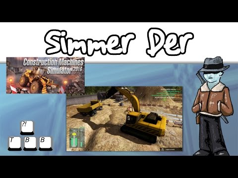 Simmer Der - Construction Machines Simulator 2016 - 003 - How to Bury a Pipe