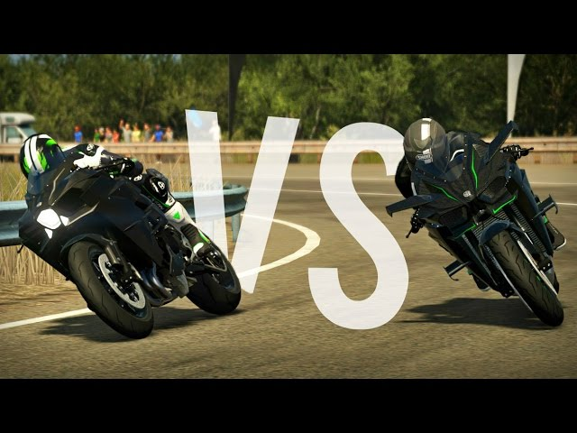 Ninja H2 Vs Ninja H2r Ride2 Indonesia Gameplay Pc