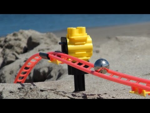 Marble Run on the Beach