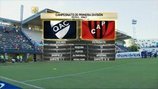 Quilmes vs Patronato de Parana full match