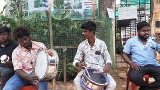 Chennai band barath k.k.nagar contact:9551316469(en macha macha asa machanai song)