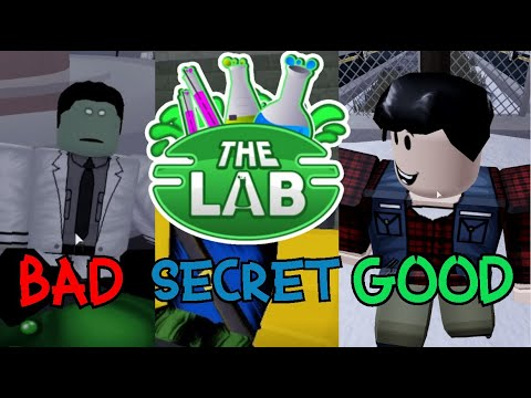 ROBLOX The Lab (Story) - All Endings