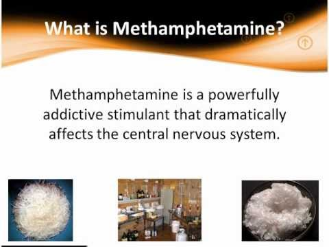 powerfully addictive stimulant methamephetamine What is methamphetamine methamphetamine is a powerfully addictive stimulant that dramatically affects the central nervous system the drug is made easily in clandestine laboratories with relatively inexpensive over-the-counter ingredients.