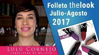Folleto thelook Mary Kay Julio Agosto 2017 en Español - Más que Mate MATTISSIMO
