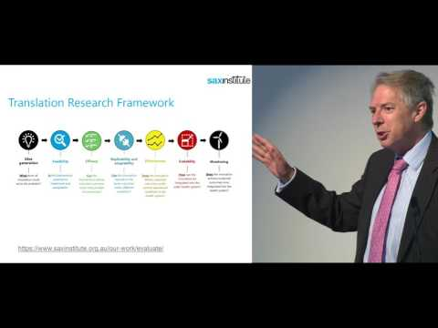 Translational Research Grants Scheme - Don Nutbeam