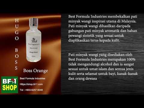 Pati Minyak Wangi Hugo Boss Boss Orange