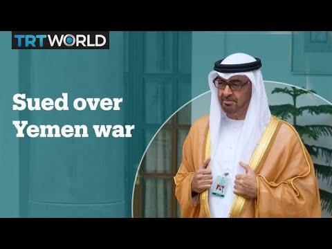 Abu Dhabi's crown prince sued over Yemen war