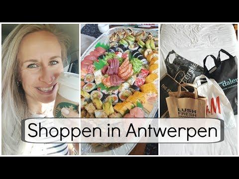 Vlog #39 - Sushi Heaven en Antwerpen Shoplog