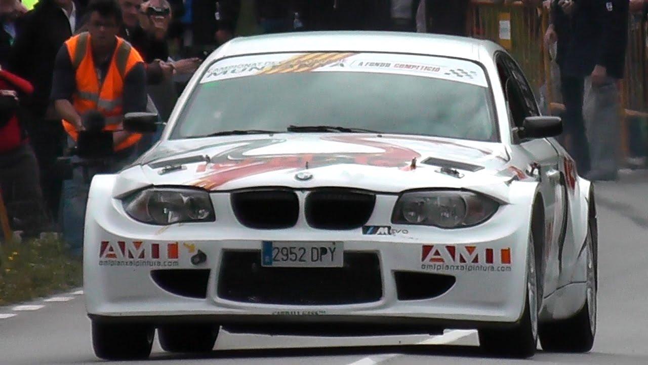 BMW Rally Car Sound  Drifts  1M vs M3 Rally  Best BMW Exhaust