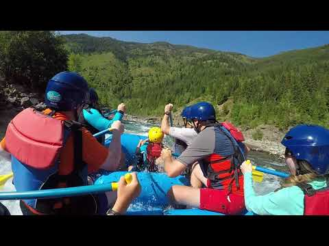 Rafting In Glacier National Park With Glacier Guides And Montana Raft!