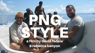 PNG STYLE 88mins 2010 FULL FILM Solo journey around Papua New Guinea