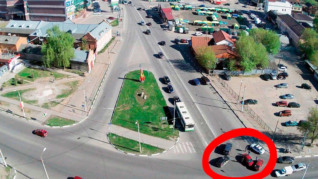 ДТП в Серпухове. Пора по парам... 03 мая 2017г.