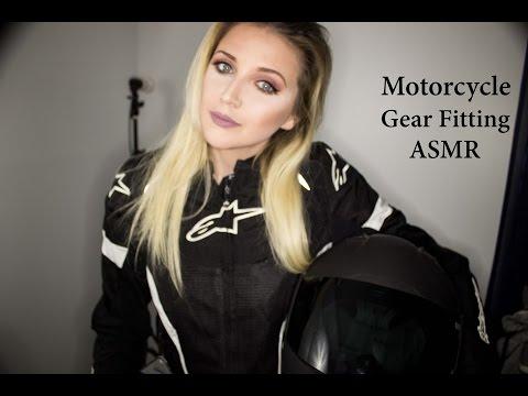 Motorcycle Gear Fitting ASMR