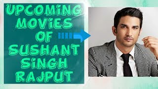 upcoming movies of Sushant Singh Rajput in 2019-20-21 with budget, release date, star cast, director