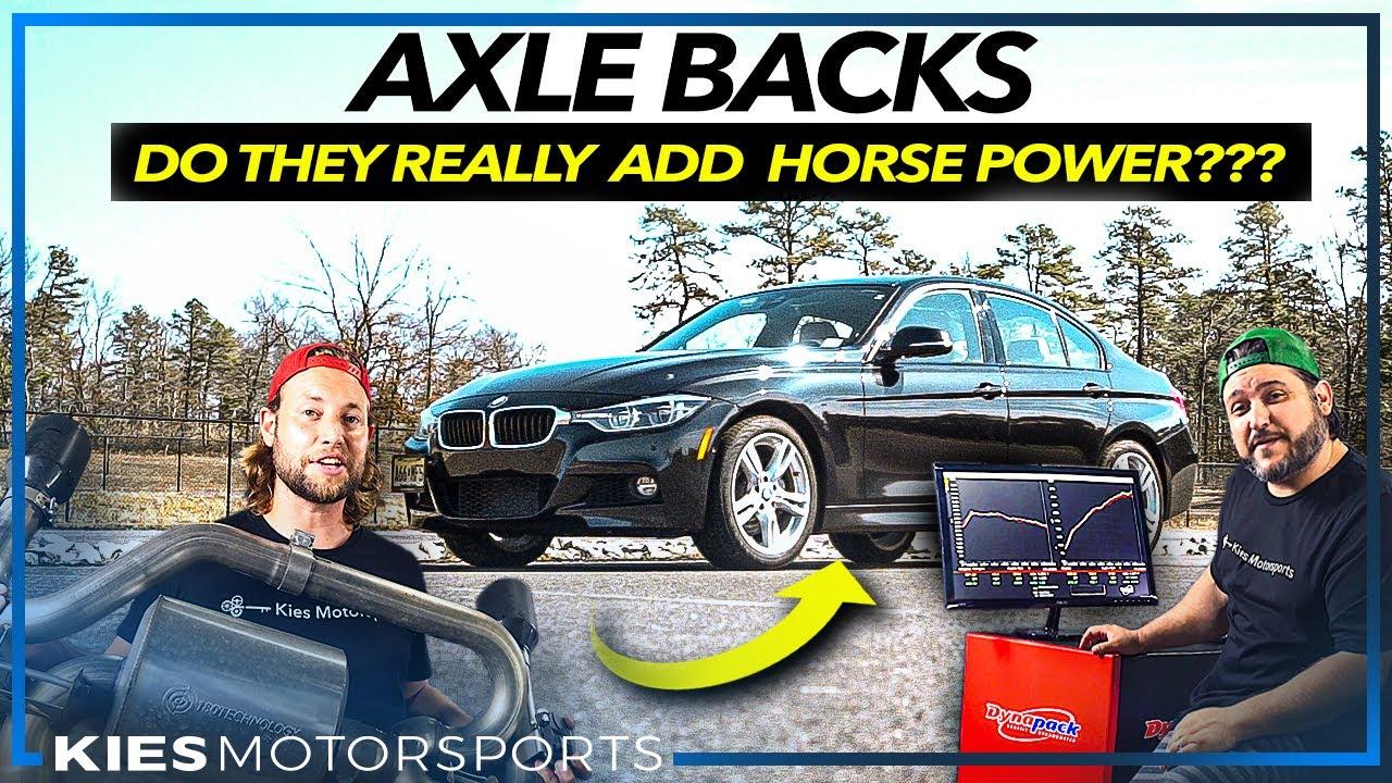 Do AXLE BACKS Really Make POWER??? DYNO TESTING & MYTH BUSTING AWE EXHAUST