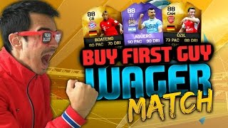 FIFA 16 : BUY FIRST GUY - WAGER MATCH #1 : 100€ XBOX LIVE CODE !! [FACECAM]