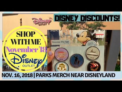 SHOP WITH ME! November 2018 Tour of Current Discounted Disney Parks Merch at the Outlets + Haul from YouTube · Duration:  11 minutes 39 seconds