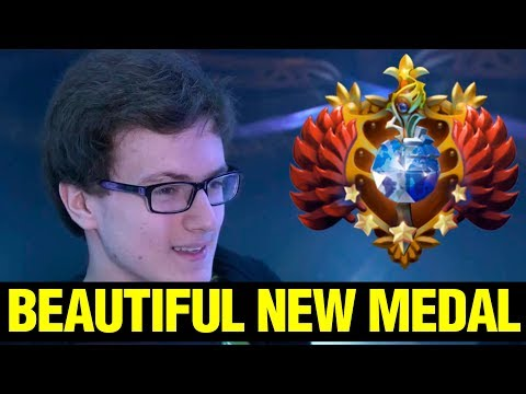 Miracle- Is Going To The Beautiful New Medal!! - Dota 2 thumbnail