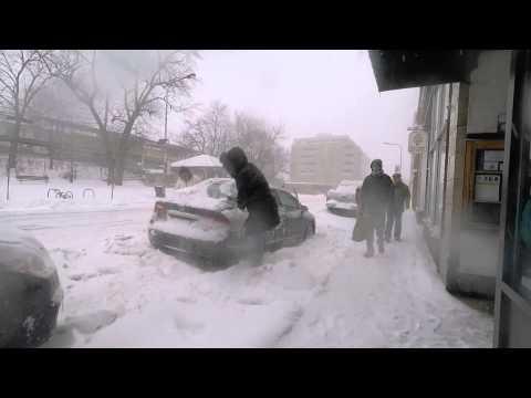 2015 Snow Storm Evanston IL