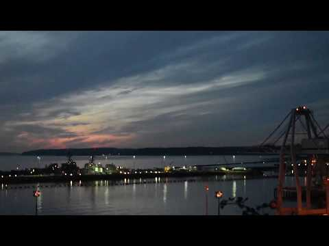 Jet City Vlog, Time-Lapse of Waterfront in Everett, Washington