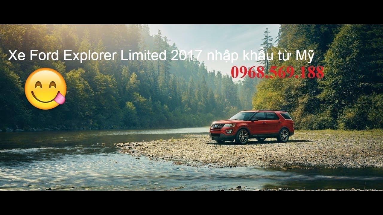 Ford Explorer 2.3 Limited 2017 giá bán, Xe Ford Explorer 7 chỗ đậm chất Mỹ.
