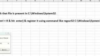component 'MSWINSCK OCX…