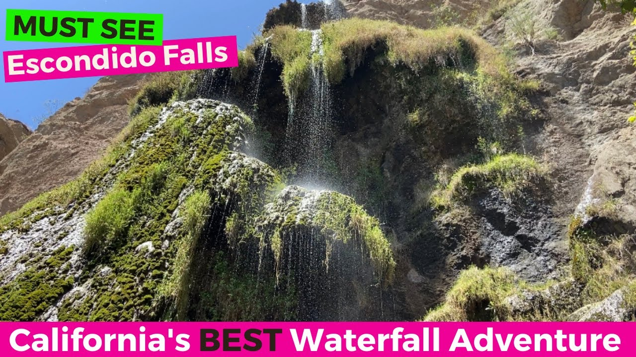 BEST, MOST UNBELIEVABLE Waterfall in Los Angeles CA - but you MUST SEE to prepare for the CRAZY hike