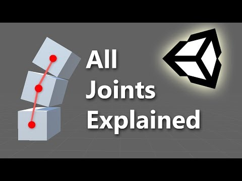 Unity physics joint tutorial: hinge joint youtube.